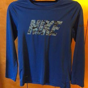 Kid's Nike Dri-Fit Long sleeve tee